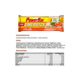 PowerBar Energize Riegel Box Bella Italia 25 x 55g